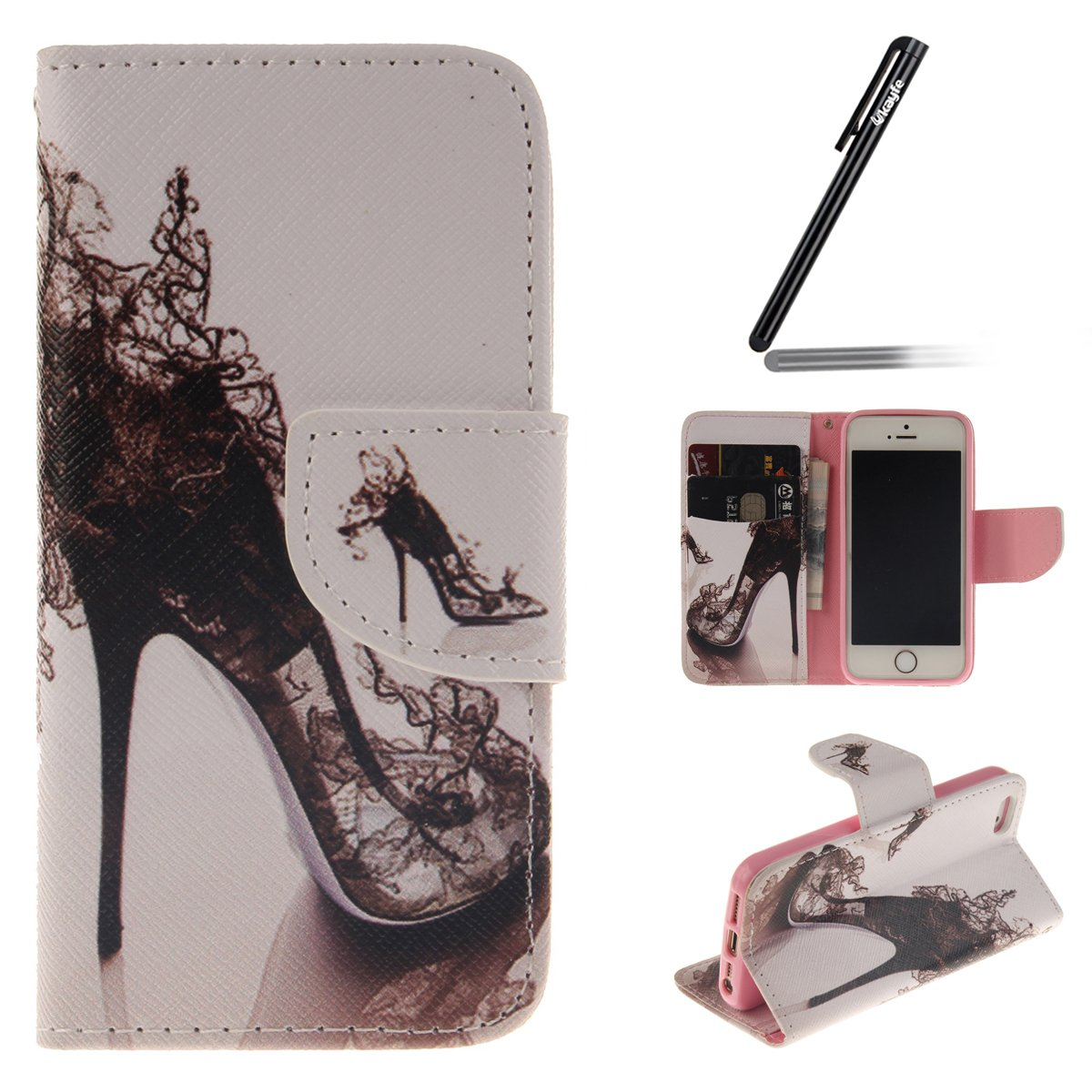 iPhone s Funda PU Cuero Funda Folio Carcasa para iPhone s iPhone