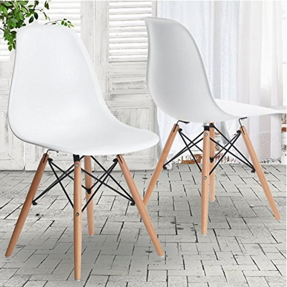 Perfect pun homewares dsw eiffel design dining eames style for Sedie design eames