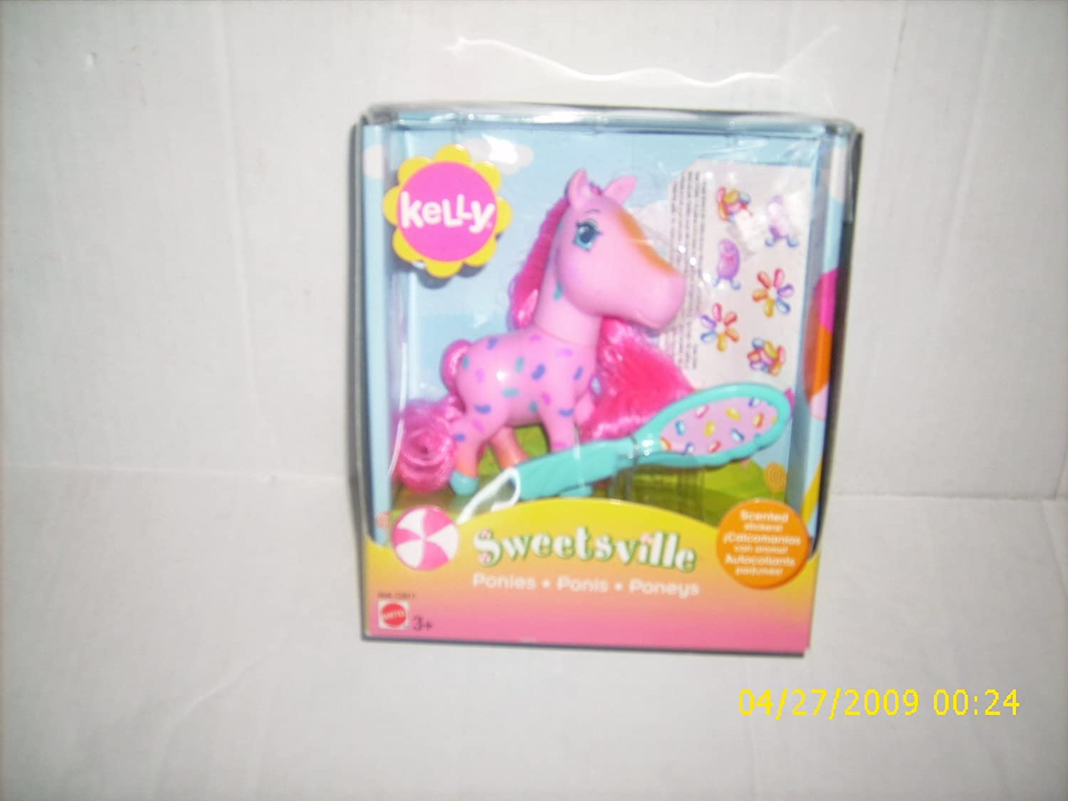 Sweetsville Kelly Pink Grape Scented Pony