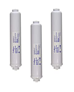 Culligan IC-100A Level 1 Icemaker and Refrigerator Dispenser Drinking Water Filter, Sold as 3 Pack