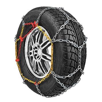 Cadenas de nieve ct de Racing KN110, 2 unidades): Amazon.es: Coche y moto
