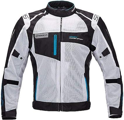 Dooy Veste de cyclisme amovible haute visibilit/é pour homme