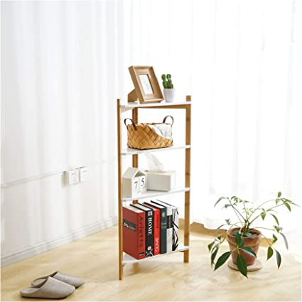 High quality 6 Tier Bamboo Bathroom Shelf Corner Shelf Storage Shelves Organizer