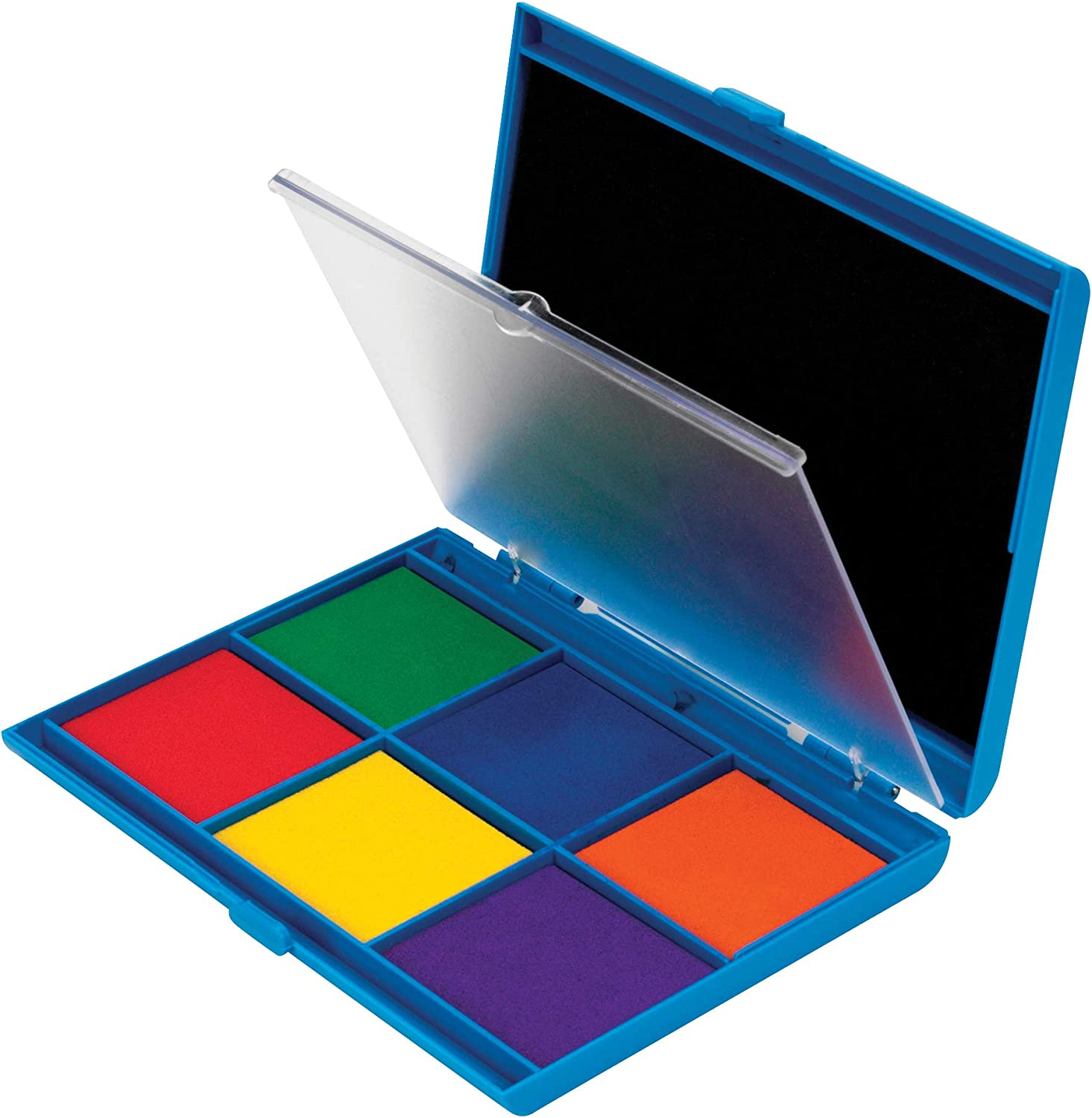 Red 3 Colors  WRP02 Blue Multipurpose Ink Pad Large Ink Pad Green Inkpad,Tin Box
