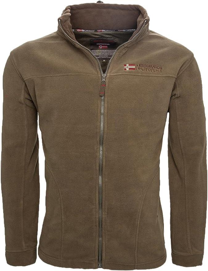 Geographical Norway Forro polar caliente para hombre, chaqueta de invierno, chaqueta de entretiempo, exteriores