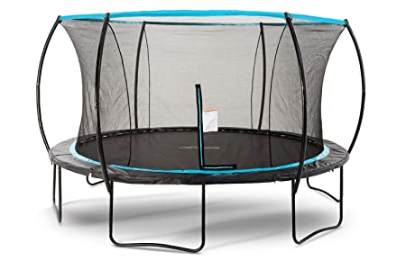 SkyBound Cirrus 14 Foot Trampoline with Updated Safety Net Top Ring for 2019 – Exceeds ASTM Safety Rating Construction – Built to Last