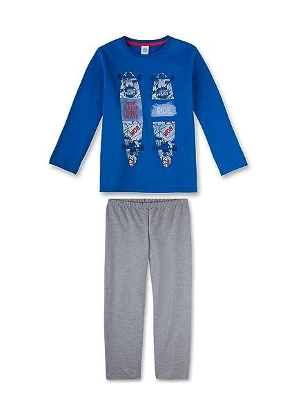 Sanetta chicos adolescentes pijamas Set largos de la manga del pijama con estampado 140-188