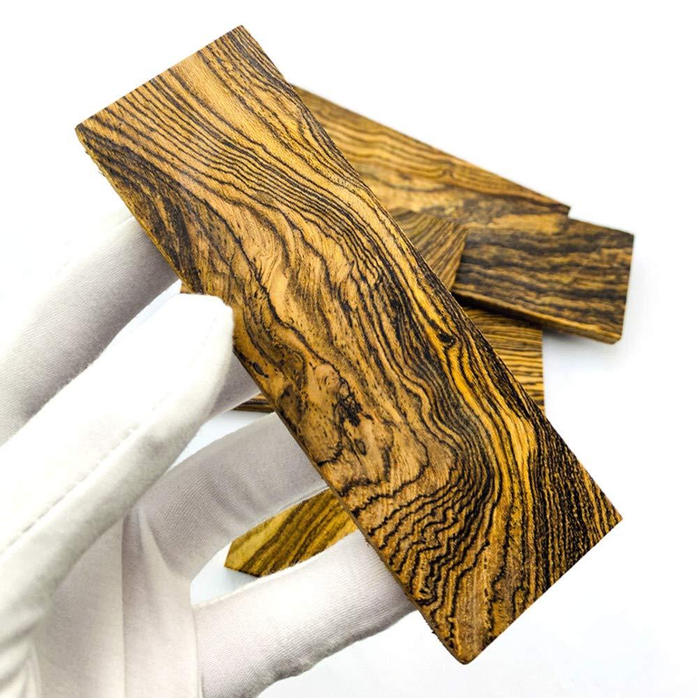 4,7x 1,6 x 0,31 Aibote 1 Paar Bocote Messergriffwaagen Holzgriffe Materialplattenmesser Benutzerdefinierte DIY-Werkzeuge f/ür die Schmuckherstellung leeren Klingen