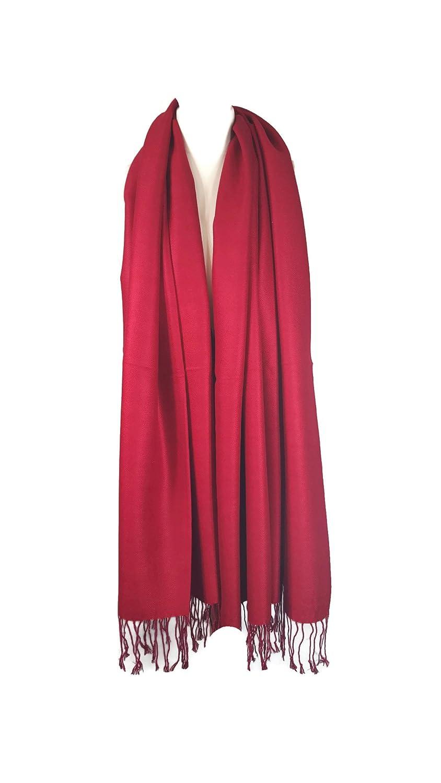 5392157f5e07 HIVER CHAUD De luxe Femmes Ultra Lisse Cachemire Touché Châle Écharpe Étole  Couverture Pashmina Style Luxueusement Chaud et Super Doux - Beige, ...