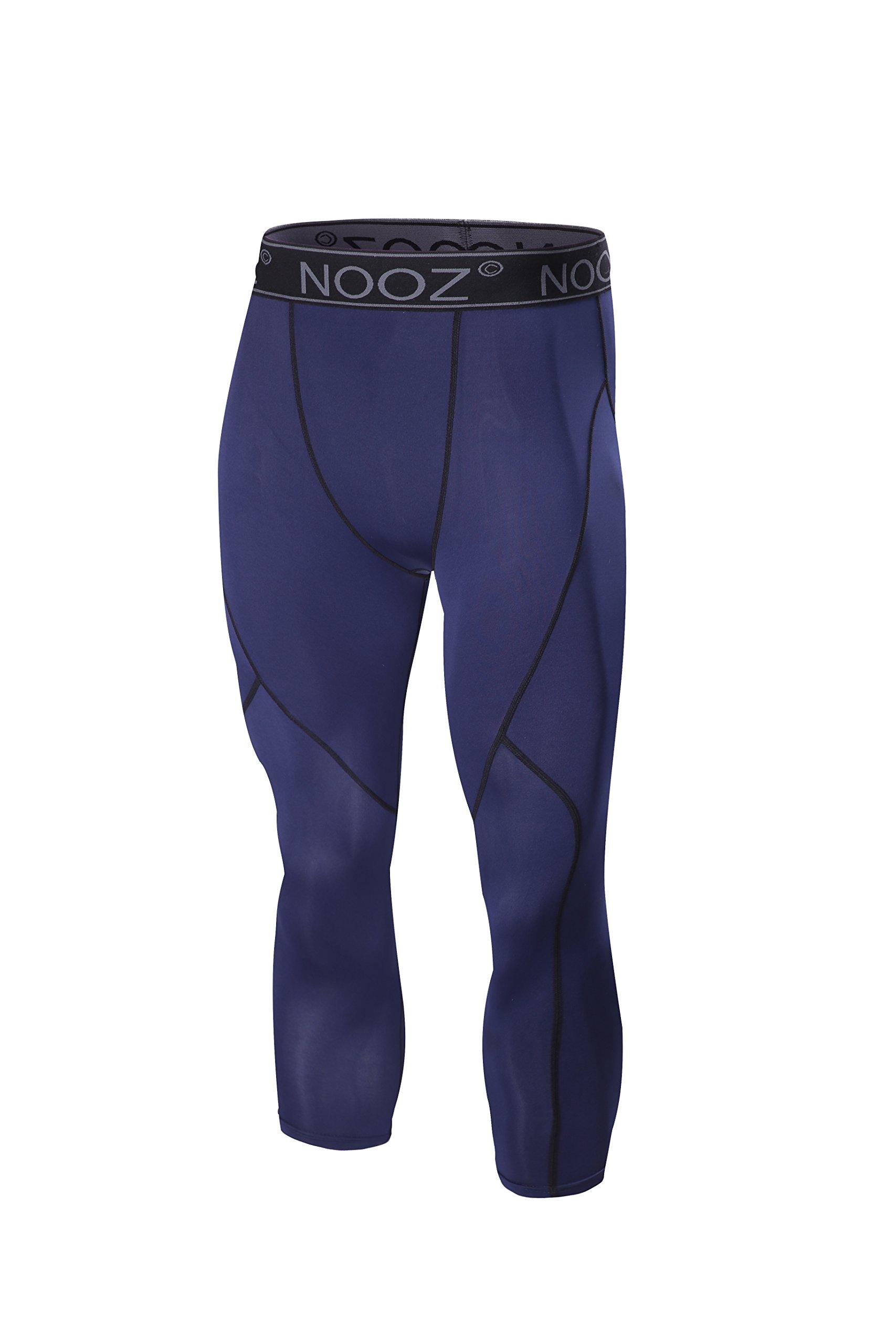 Nooz Men's Cool Dry Compression Ankle Length Capri