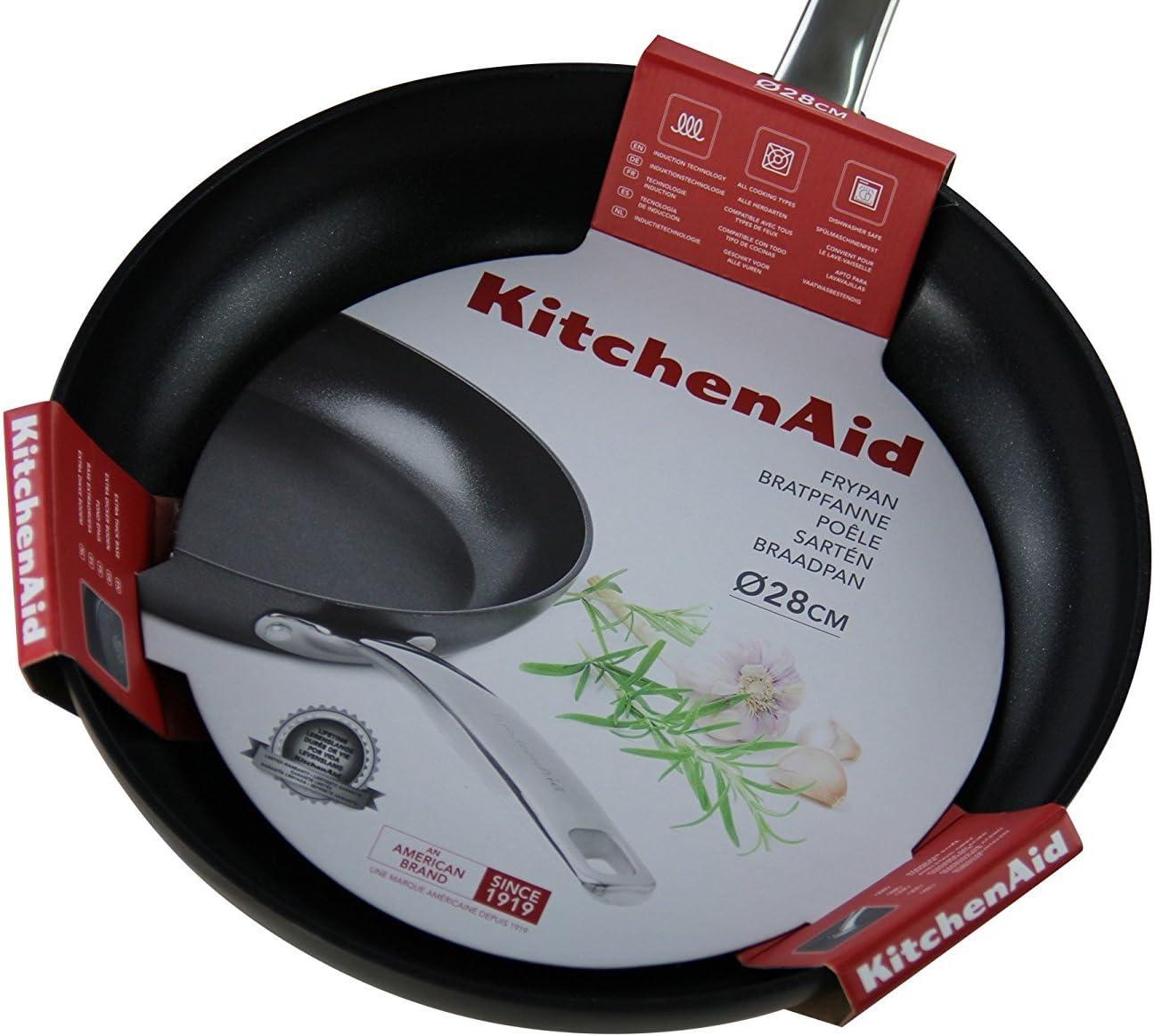 KitchenAid Sartén, diámetro 28 cm: Amazon.es: Hogar
