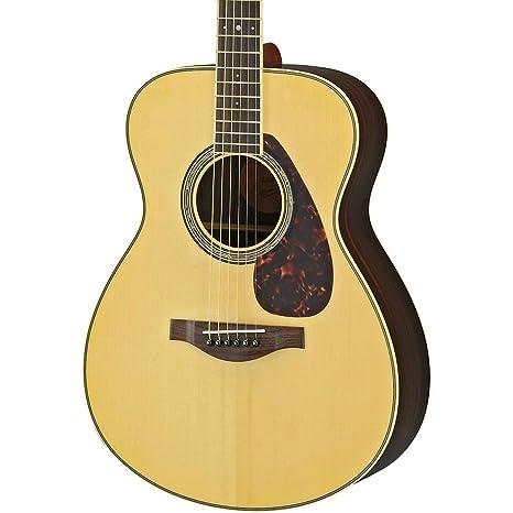 Yamaha LS6 son acústica guitarra eléctrica (palisandro) (Natural)