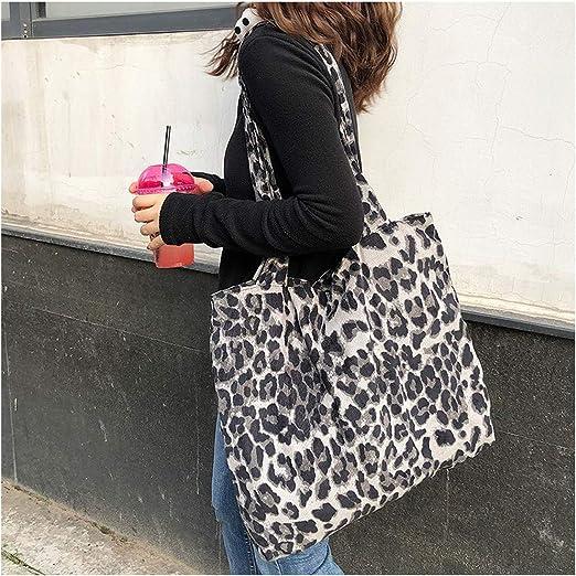 Ladies Fashionable Leopard Print Crossbody Bag Versatile Single Shoulder Bag
