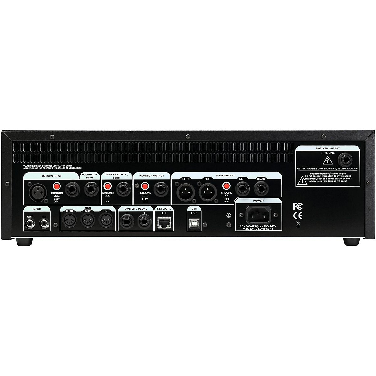 Kemper Profiling Amplifier Power Rack amplificador para guitarra ...