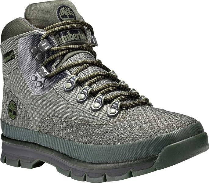 a30d14c1391 Amazon.com | Timberland Euro Hiker Jacquard Boot - Men's Dark Green ...