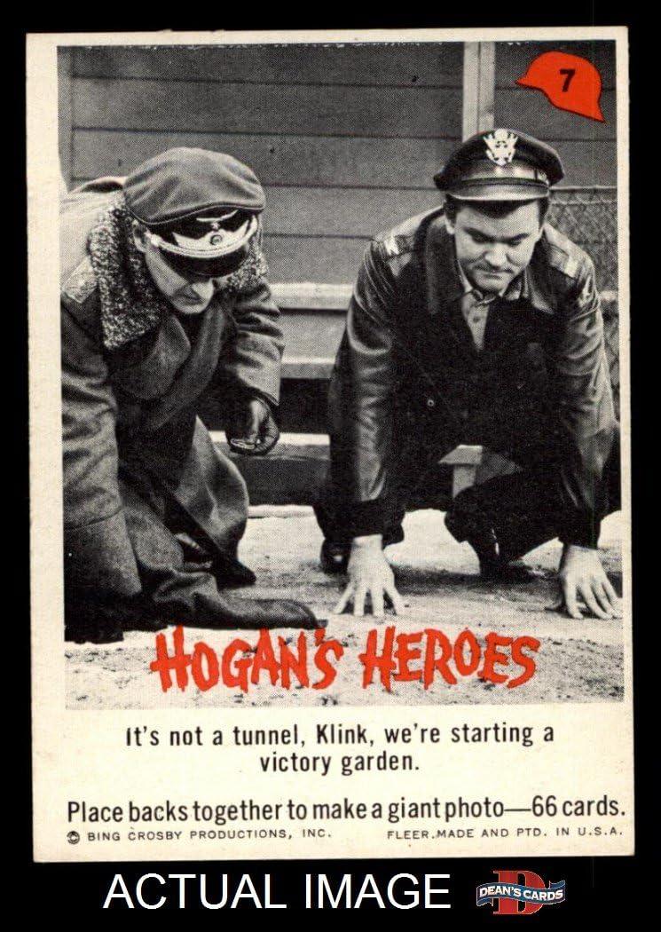 1965 Fleer Hogan's Heroes # 7 It's Not Tunnel Klink We're (Card) Dean's Cards 6 - EX/MT