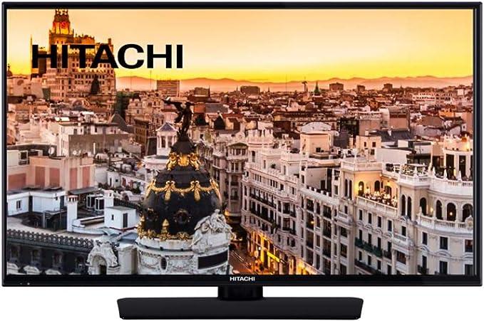 Hitachi 49HE4000 TELEVISOR 49 LCD LED Full HD 600Hz Smart TV WiFi Bluetooth HDMI USB Grabador Y Reproductor Multimedia: Amazon.es: Electrónica
