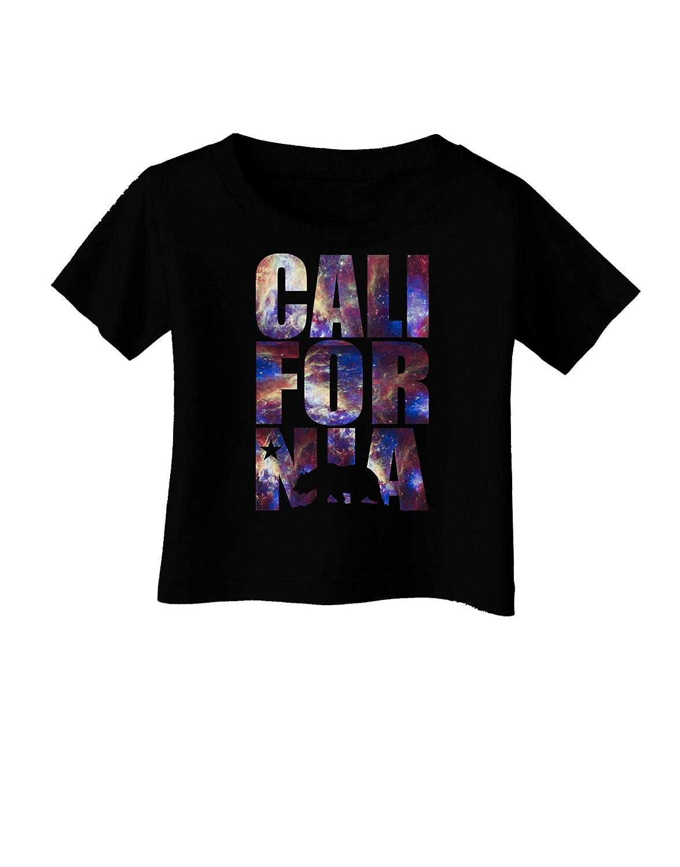 TooLoud California Republic Design Space Nebula Print Infant T-Shirt Dark