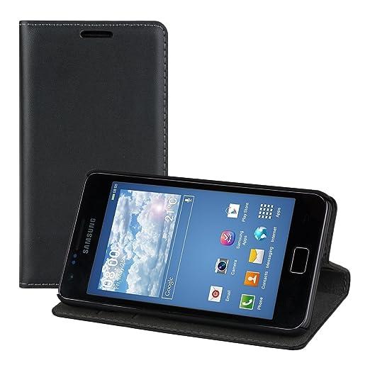 30 opinioni per kwmobile Elegante borsa in ecopelle per Samsung Galaxy S2 S2 PLUS con chiusura