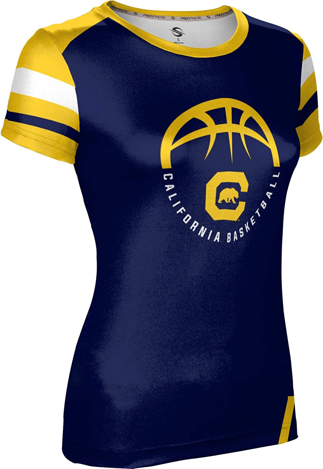 ProSphere University of California Old School Berkeley Basketball Girls Performance T-Shirt
