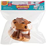 "The Orb Factory Jumbo Cookie S'More Soft'n Slo Squishies, Brown/White, 10.83"" x 9.25'' x 3.50"""
