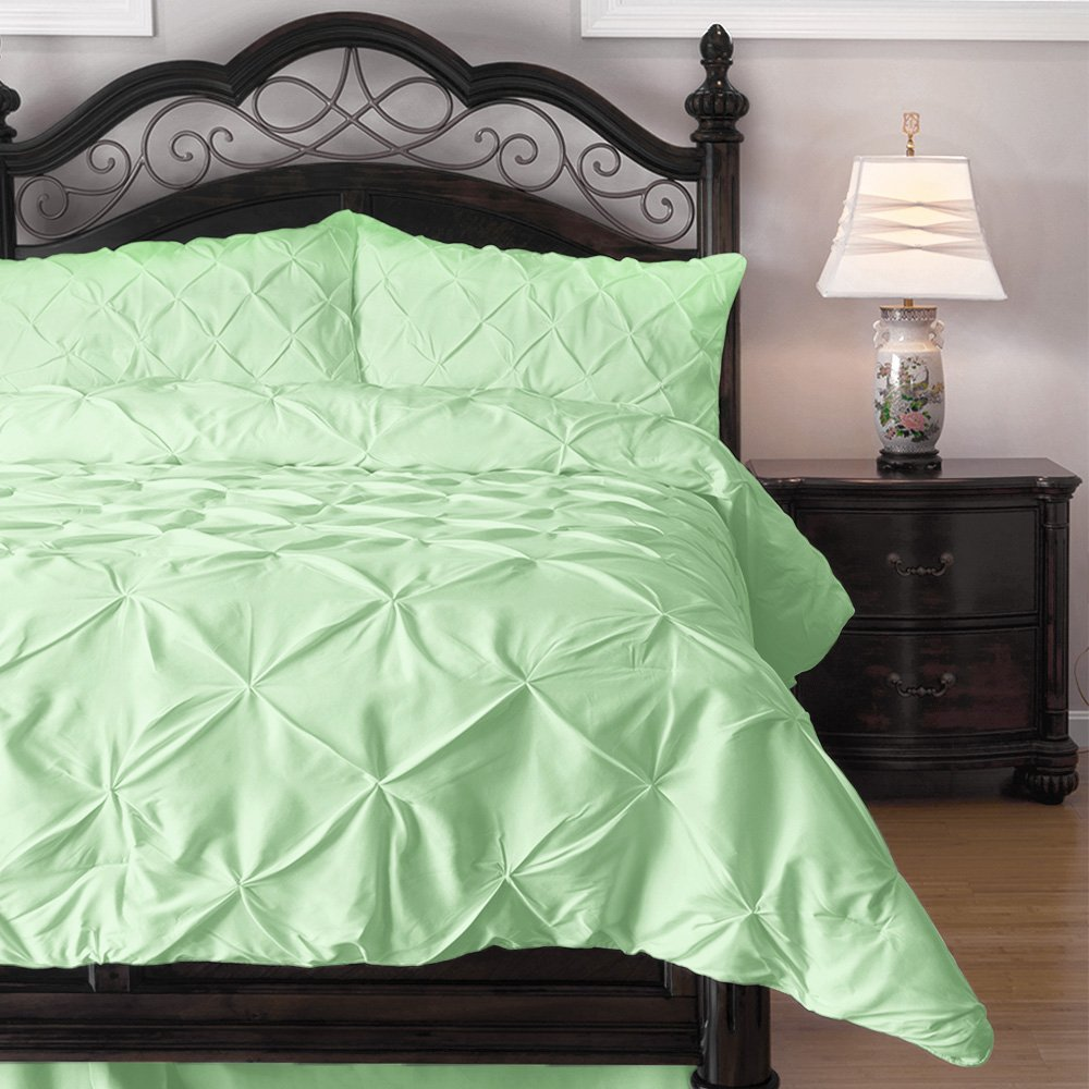 Hypoallergenic Comforter Set King, Mint
