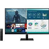 SAMSUNG M7 Series 32-Inch 4K UHD (3840x2160) Smart Monitor & Streaming TV (Tuner-Free), Netflix, HBO, Prime Video, & more, Ap