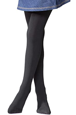 fc7094c3e98cf4 Heat Holders Girls 1 Pair 0.52 Tog Thermal Tights 5-6 Years Black:  Amazon.co.uk: Clothing