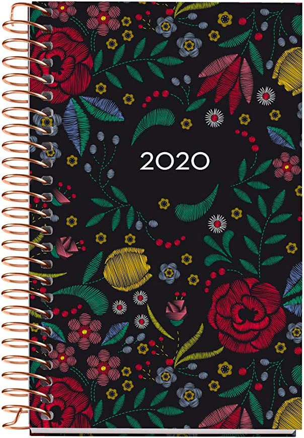 Miquelrius 39071 - Agenda 2020, Semana Vista Horizontal (80 x 125 mm), de bolsillo, Manila, Castellano