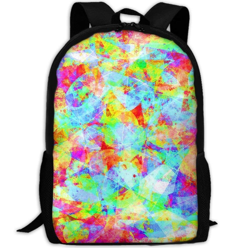 228d76ab717f Amazon.com | Adult Travel Hiking Laptop Backpack Color Painting ...