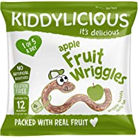 KIDDYLICIOUS Fruit Wriggles, Apple, 12 gm