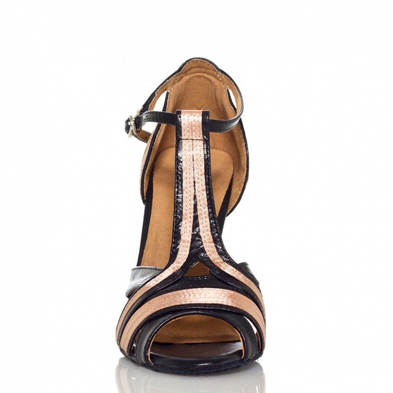 Beige 35 Black//Nude-10cm Heel Miyoopark Chaussures de Danse Femme
