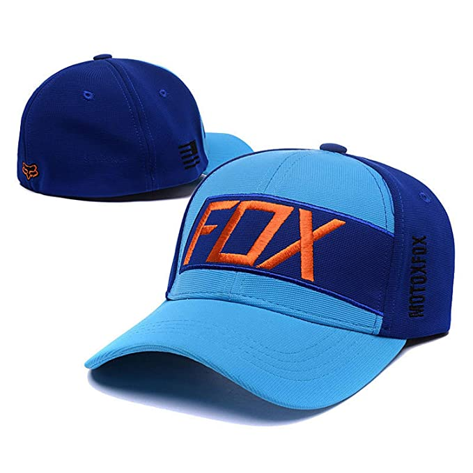 f3f6bda607c82 Fashion Fox Baseball Cap Women Men Motor Sports Snapback Hat Cartoon  Pattern Embroidery Caps Hip Hop