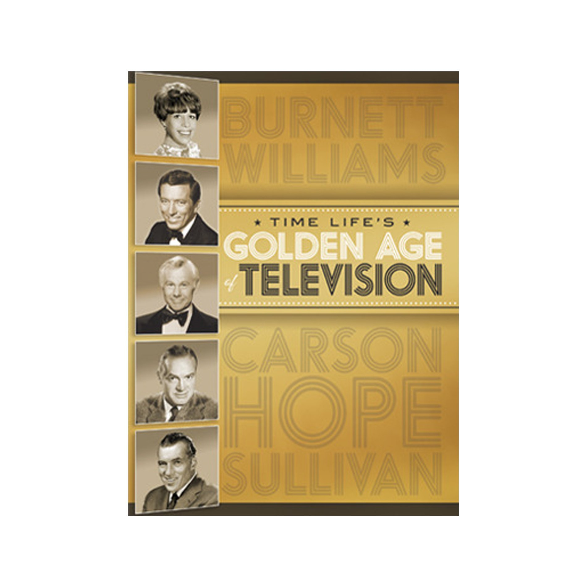 Golden Age of Television - Classic TV Shows from Five Decades - Together in One collection by Time Life by Time Life