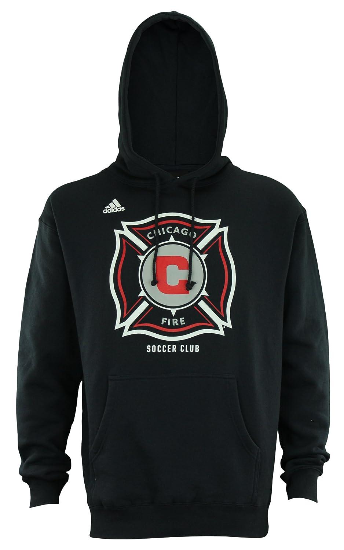: adidas Men's Chicago Fire Fleece Hoodie: Clothing