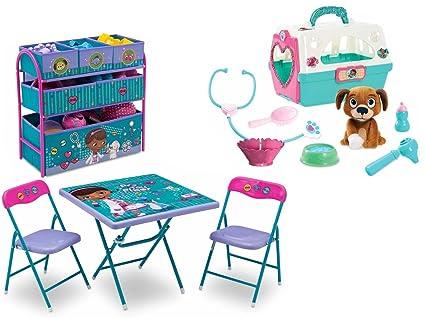 Disney Jr. Doc McStuffins Playroom Solution Set with Folding Activity/Play Table  sc 1 st  Amazon.com & Amazon.com: NEW! Disney Jr. Doc McStuffins Playroom Solution Set ...
