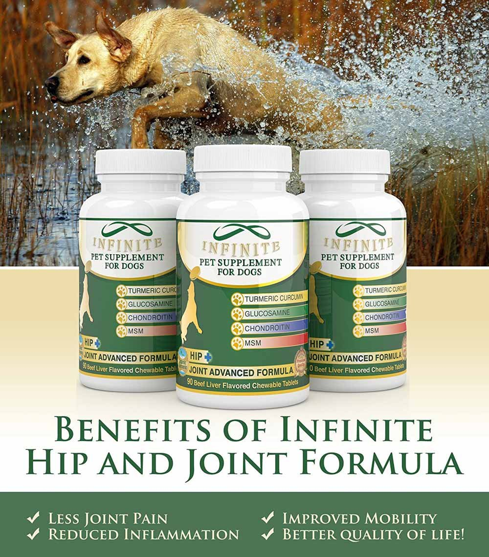 all natural hip joint supplement for dogs with glucosamine