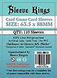 Sleeve Kings Card Game Card Sleeves (63.5x88mm) - 110 Pack, 60 Microns