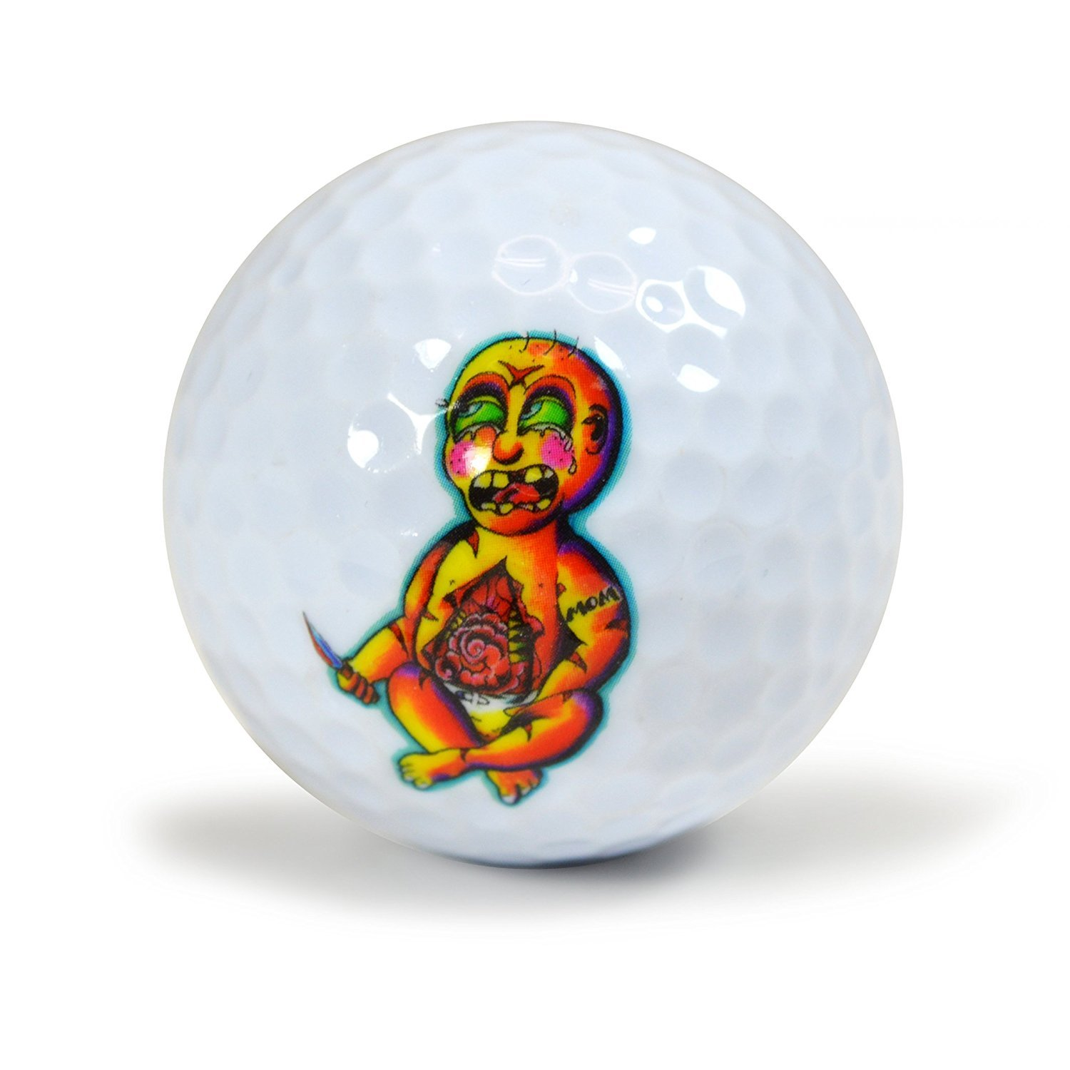 Nicks Underground Novelty Golf Balls - Is It Safe 3 Pack Display Tube #NUG19 [並行輸入品] B071FYHBCP