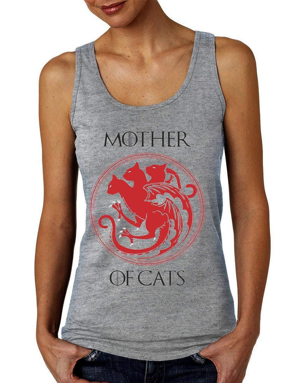 ShutUp Mother of Cats Femmes Tank Top T-Shirt
