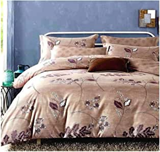 King Size, Cotton,Print Pattern, Multi Color - Bed Sheets