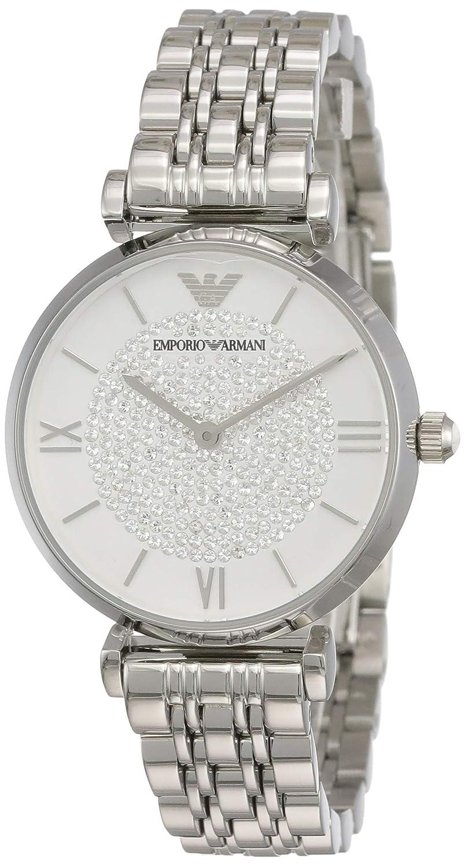 Emporio Armani Reloj Analogico para Mujer de Cuarzo con Correa en Acero Inoxidable AR1925