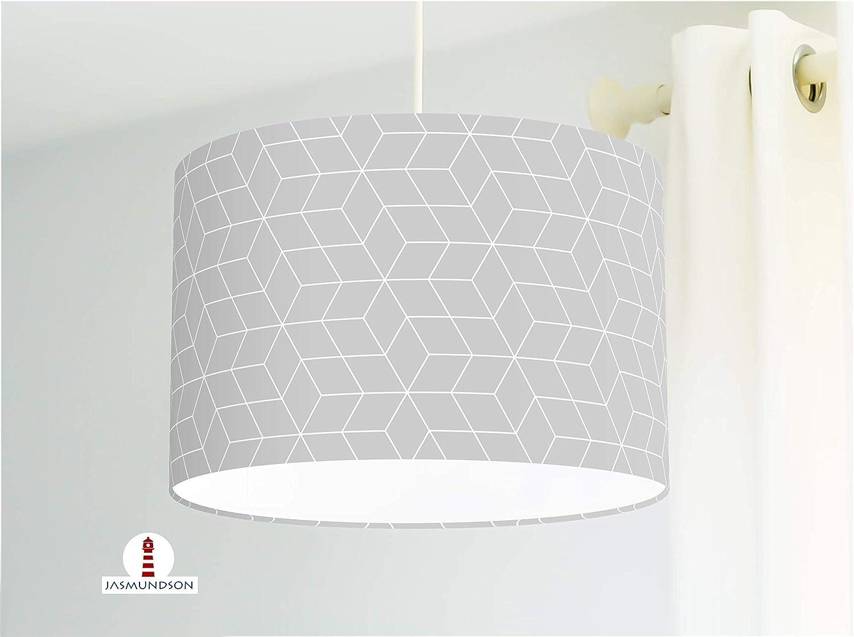 Lampe mit skandinavischem Muster Deckenlampe im Skandilook