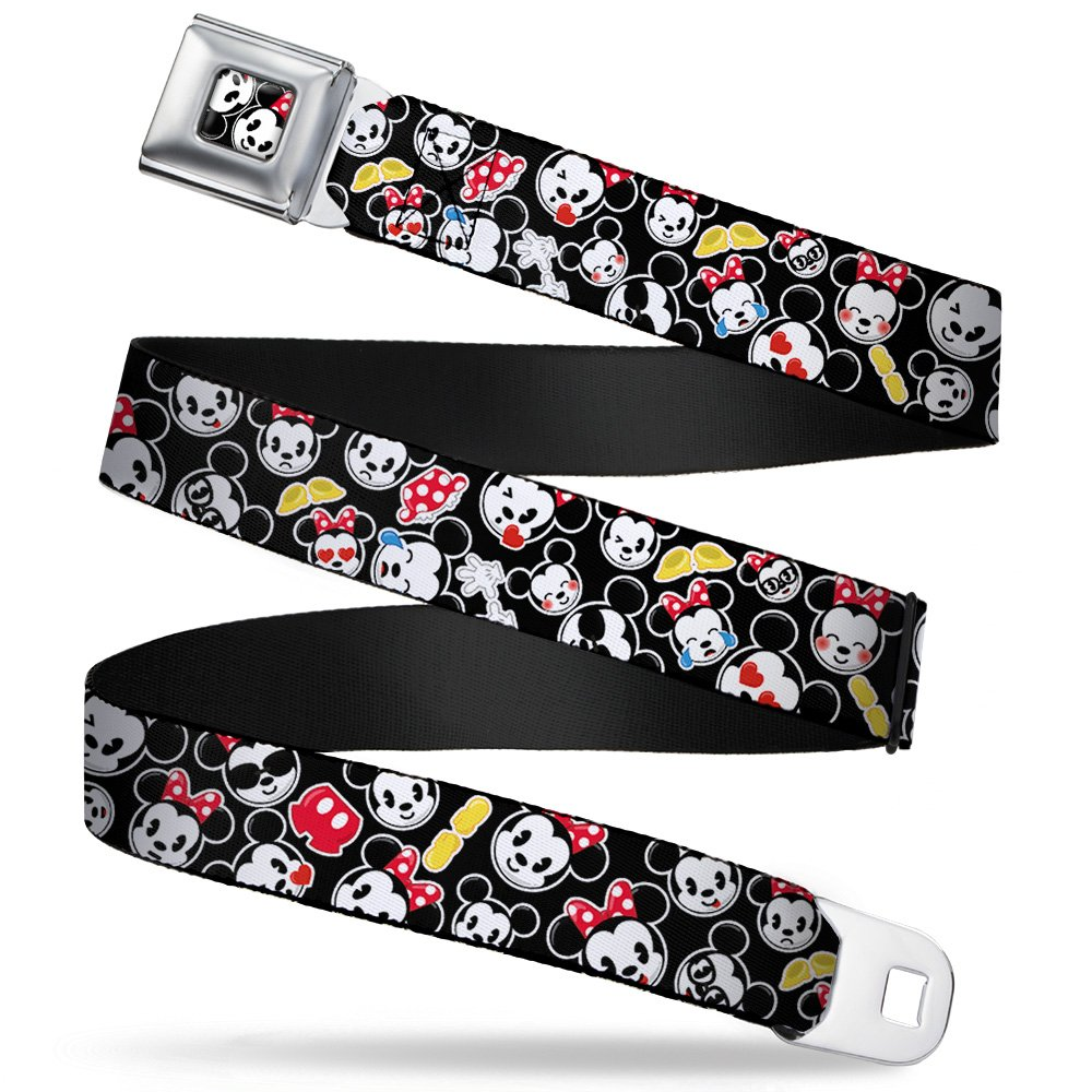 Buckle Down boys Buckle-down Seatbelt Belt Mickey Mouse, Minnie Mouse Regular