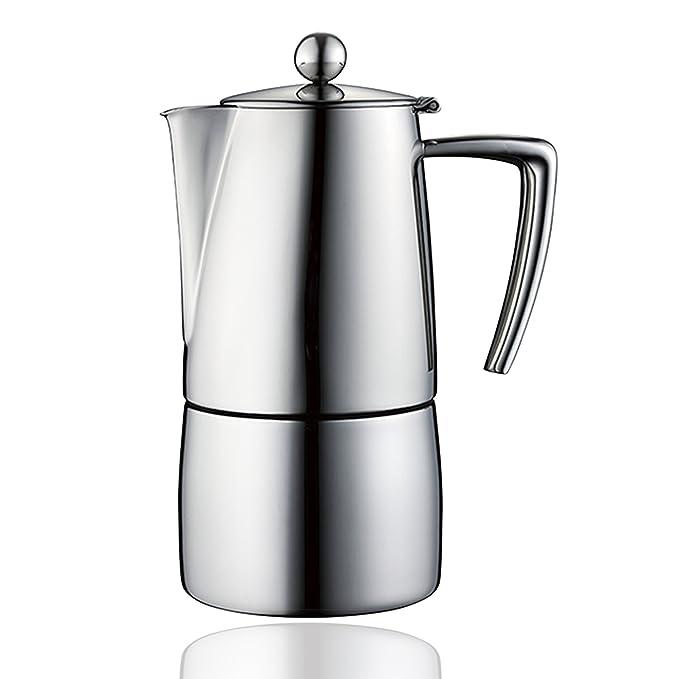 Minos cafetera italiana Espresso Maker – Cafetera 4 Tazas/6-cups ...
