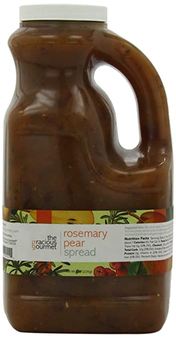 El Gracious Gourmet Romero Pera Spread, 76-ounce: Amazon.com ...
