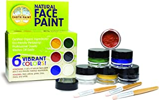 product image for Natural Face Paint Kit - Safe, Organic and Hypoallergenic