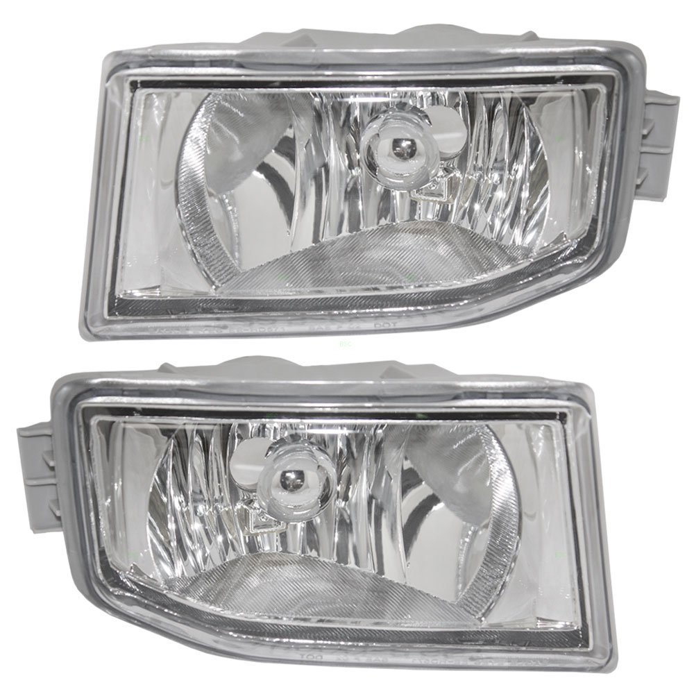 Driver and Passenger Fog Lights Lamps Replacement for Acura Honda 33951-S3V-A11 33901-S3V-A11 AutoAndArt