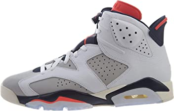 brand new e17f3 1dffa Nike Jordan Retro 6 - Men s (12, White Infrared 23 Neutral Grey