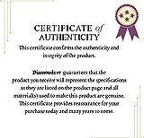 Diamondere Natural and Certified Round Diamond